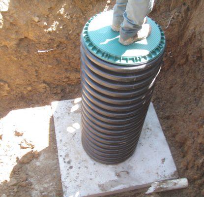 Mini Backhoe Excavator Services Advanced Septic